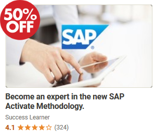 Become an expert in the new SAP Activate Methodology by SuccessLearner